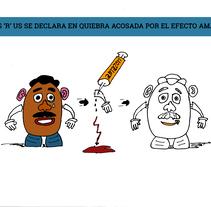 Mr. Potato se muda de casa. Un proyecto de Ilustración y Comic de ssluysa         - 05.10.2017