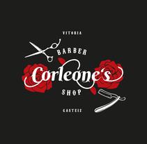Logotipo Corleone´s. Un proyecto de Diseño de Fran Ceballos - 02-10-2017