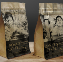 Coffee Packaging – Farmers First. A Design, Graphic Design, and Packaging project by Cecilia Santiago         - 01.10.2017