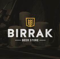 BIRRAK Beer Store. Un proyecto de Br, ing e Identidad y Diseño gráfico de Yeray Vega Fernandez de Labastida         - 13.10.2014