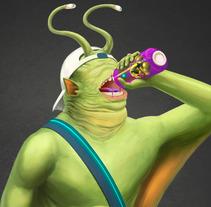 Character Design. A Illustration, Art Direction, Character Design, Game Design, and Comic project by Jose Morell - 13-10-2017