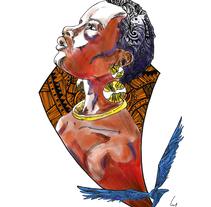 África - Inyoni e Intare. Un proyecto de Ilustración de Guillermo Altarriba         - 10.06.2017