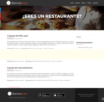 Blog para app BarmanJobs. A Design, and Web Design project by Edith Llop Roselló         - 01.09.2017