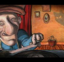Abuelo - Concept Art. A Illustration project by Juan David Gallego Arango - 21-12-2012