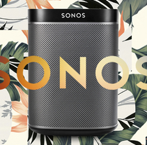 Sonos Home Sound System USA. A Br, ing&Identit project by Xavi Quesada - 19-10-2017