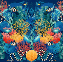 Wildlife patterns. A Illustration, Product Design, and Pattern design project by Carla Lucena - 20-10-2017