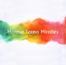Tarjetas de Visita Montse Tormo. A Graphic Design project by Cristina Ygarza - 16-10-2017