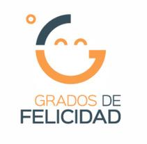 Logo Grados de Felicidad. A Design, Br, ing&Identit project by Alberto Campa         - 02.04.2017
