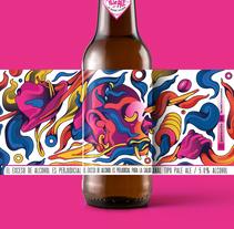 Cerveza ilustrada. Un proyecto de Ilustración de Daniel Villanueva - 21-10-2017