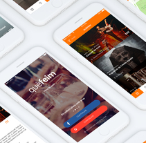 quèfeim app. A UI / UX, and Graphic Design project by Toni Mascaró         - 26.10.2017