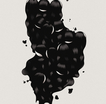"""""""Black Mirror"""" ilustración extraída de la colección """"Otros Mundos"""" ©Hugo Giner 2017.. A Design, Illustration, Fine Art, Graphic Design, and Vector illustration project by Hugo Giner  - 29-10-2017"""