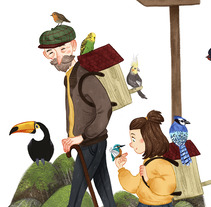 The Bird Breeders. A Illustration, Character Design, and Fine Art project by Marina  Pérez Luque         - 29.10.2017