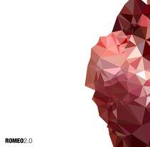 "Portada disco de ROMEO ""2.0"". Un proyecto de Diseño de Pedro Fernandez Iñigo         - 02.05.2015"