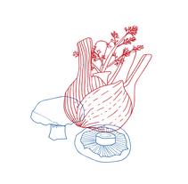 Bossa de la compra - Saüc Estudi. A Illustration, Br, ing, Identit, and Vector illustration project by Neus Baidal Villada - 03-11-2017
