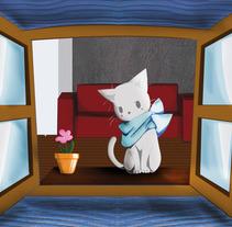 El gato. A Illustration project by Cristina Vicente Baena         - 05.11.2017