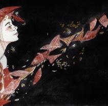 Una Cenicienta triste. . A Illustration project by Marieta Alonso-Collada - 14-11-2017