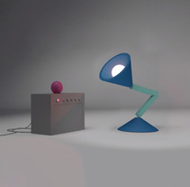 Headbanging Desk Lamp - Free Exercise (2016). A Animation project by Fran Valle         - 09.03.2015