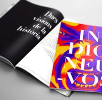 Indigneu-vos. Um projeto de Design, Ilustração, Direção de arte, Design editorial e Ilustración vectorial de Pau Juárez León         - 11.11.2017