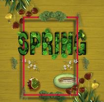 Título: Spring. | Proyecto: Yo y las ideas.Nuevo proyecto. Un proyecto de Diseño y Diseño gráfico de Ignacio Fdez.         - 11.11.2017