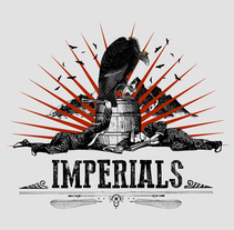Camiseta Imperials. A Illustration, and Automotive Design project by gregor          - 13.11.2017