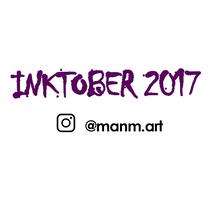 INKTOBER _ 2017. Un proyecto de Ilustración de Manoli Maroto         - 31.10.2017