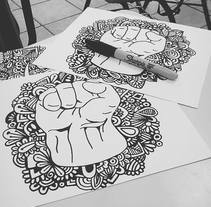 Zentangle art . A Design, Illustration, and Graphic Design project by Victoria Ríos          - 16.11.2017