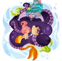 Classic Fairy Tales - The Little Mermaid. Un proyecto de Ilustración de okosketch         - 18.11.2017