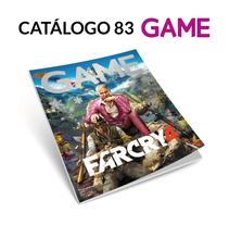 Catálogo 83 GAME. A Graphic Design project by Fernando Escolar López-Roso - 23-11-2017