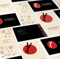Sistema de identidad y branding para Restaurant Dynasty. A Design, Br, ing, Identit, Editorial Design, Graphic Design, Naming, and Pattern design project by Alejandra Fisichella         - 26.11.2017