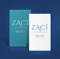 Zací - Cenote & Restaurante . Un proyecto de Diseño y Marketing de Heber Fermín Luna Salazar         - 27.11.2017