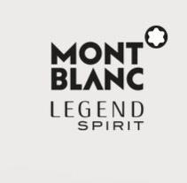 Montblanc Legend Spirit. A Web Design project by Guillermo Rosewarne - 30-11-2017