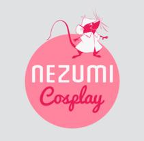 Nezumi Cosplay - Tarjetas. Un proyecto de Diseño y Diseño gráfico de Mónica Casanova Blanco         - 30.11.2017
