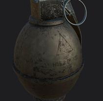 Props para videojuegos - 3D. Um projeto de 3D de José Torres Escobar         - 30.11.2017