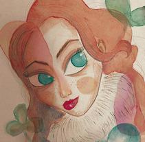 Ojos de gato. A Illustration project by penelope torres ilustradora         - 04.12.2017