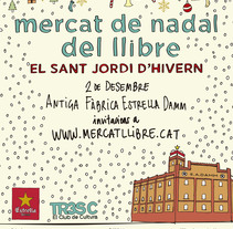 Mercat de Nadal del Llibre 2017. A Illustration, and Graphic Design project by Elisenda Barceló         - 01.11.2017