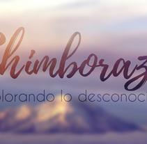 REVISTA CHIMBORAZO /LOGOTIPO / DISEÑO DE REVISTA. A Design, and Editorial Design project by kristian Javier Auquilla         - 16.12.2017