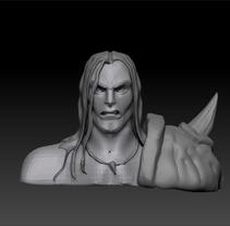 Mi Proyecto del curso: Modelado de personajes en 3D. Un proyecto de 3D de jmdt1983         - 16.12.2017