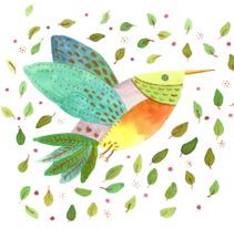 Técnicas aplicadas de ilustración en acuarela. Un proyecto de Diseño, Ilustración y Artesanía de Andrea Olarte         - 21.12.2017