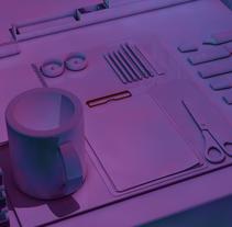 Mi Proyecto del curso: Introducción exprés al 3D: de cero a render con Cinema 4D. A 3D project by max_mage1 - 29-12-2017