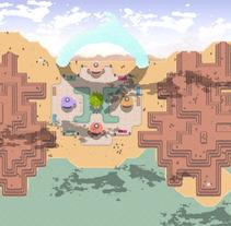 2D Game / Unity . Un proyecto de Animación, Dirección de arte, Diseño de personajes y Diseño de juegos de Constantino Briones Gómez         - 03.01.2018