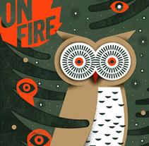 ON FIRE. Un proyecto de Ilustración de Mar Hernández - 04-01-2018