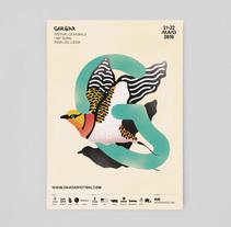 Gargar Festival. A Illustration, Art Direction, and Graphic Design project by Higinio  Rodríguez Menayo - 09-01-2018