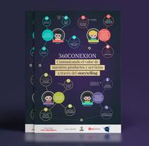 360CONEXION: Comunicando el valor de nuestros productos a través del storytelling. Un proyecto de Infografía de Ainara García Miguel         - 12.01.2018