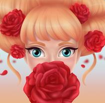 Princesas. A Illustration project by Carolina Valtuille         - 10.01.2018