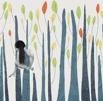 Encaramada, ilustración. Um projeto de Ilustração de Veruska Maceiras         - 15.01.2018