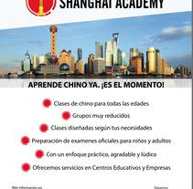Shanghai Academy. Un proyecto de Diseño gráfico de Marina Torres Moreno         - 17.01.2018