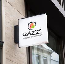 Razz Sushi. Un proyecto de Diseño, Publicidad, Br, ing e Identidad, Gestión del diseño, Diseño gráfico, Diseño de la información, Packaging, Diseño de producto e Ilustración vectorial de Daniela Nettle - 20-01-2017