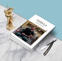 Maquetación Nebula magazine. Um projeto de Design editorial e Design gráfico de Verónica Ibáñez         - 23.01.2018