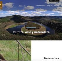 Web paisajeros.com. A Web Design project by Amelia Fernández Valledor         - 25.01.2018
