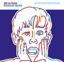MACAULAY CULKIN. A Art Direction, Graphic Design, and Vector illustration project by Álvaro Fernández Maldonado - 25-01-2018